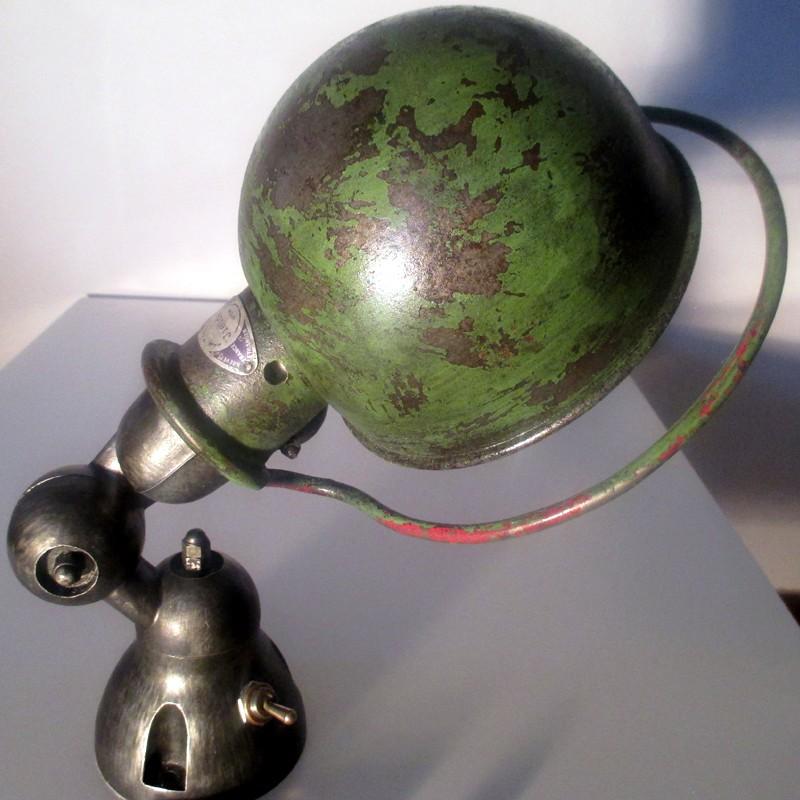 Lampe applique verte graphite jield restaur es applique - Lampe jielde applique ...