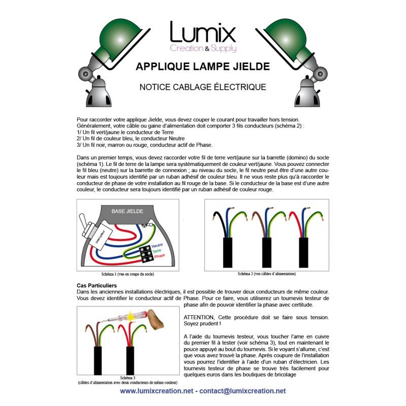 lampe bleu graphite jield restaur es applique jielde. Black Bedroom Furniture Sets. Home Design Ideas