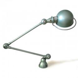 Lampe Jielde 2 bras vert clair industrie