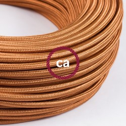 Câble textile 2 x 0,75 mm2 Whiskey effet soie
