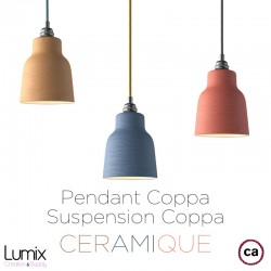 Suspension COPPA en céramique