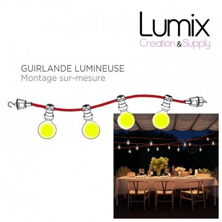 Outdoor string lights - Custom IP44