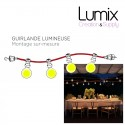 LUMET Outdoor or interior string lights