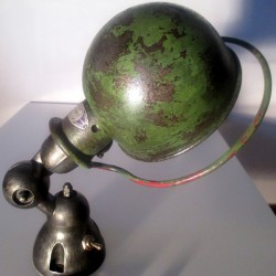 wall lamp - green origin