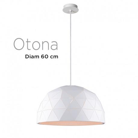 Suspension polygone OTONA diamètre 60 cm NOIR