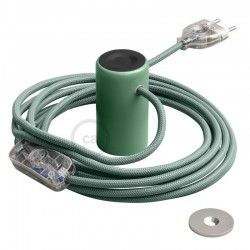 Lampe baladeuse Magnetico®-Plug 3 m de câble textile Noir