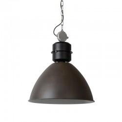 GARRIS rust metal industrial pendant lamp diameter 50 cm
