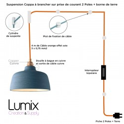 Suspension Coppa cloche