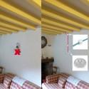 COMMANDE PRIVÉE - 1 suspension simple et 1 suspension guirlande 4 lampes douille porcelaine - voir descriptif