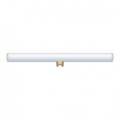 Ampoule tube LED opale S14d - longueur 300 mm