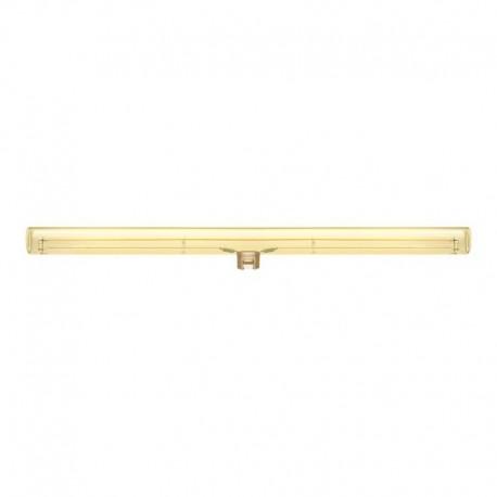 Ampoule tube LED dorée S14d - longueur 500 mm