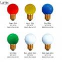 Ampoule sphérique spécifique pour guirlande lumineuse IP44