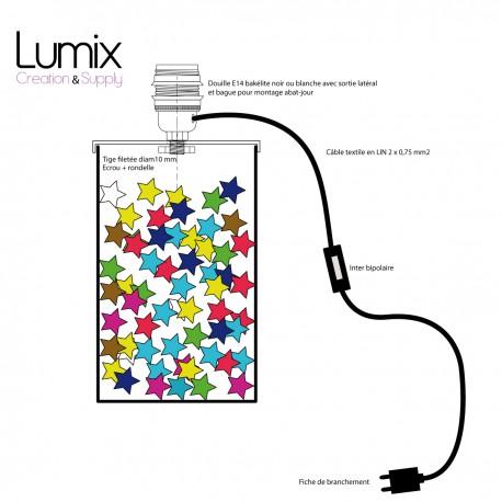 PRIVÉE - Cordon alimentation spécifique pour lampe à poser