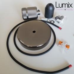 Kit complet pour montage d'une suspension simple métal avec douille moderne à bague