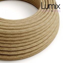 Câble textile 2 x 0,75 mm2 Jute naturel