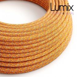 Câble textile 2 x 0,75 mm2  Coton Indian Summer
