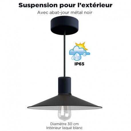 COMMANDE PRIVÉE : 6 SUSPENSIONS REF SUSP-2-IP65-GRA - 1 M -