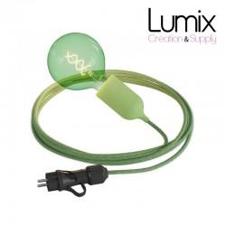 Lampe baladeuse à suspendre utilisable à l'extérieur - De 3 à 10 mètres de câble textile IP65