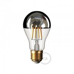 Ampoule LED Goutte A60 Demi Sphère Cuivrée 7W E27 Dimmable 2700K
