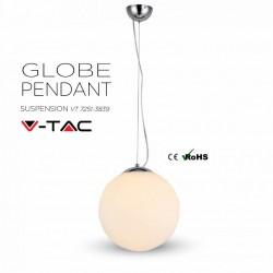 Suspension Globe 60W-E27 de chez V-TAC