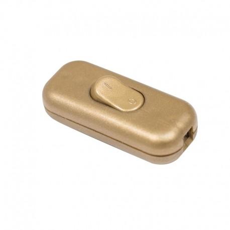 Interrupteur bi-polaire or